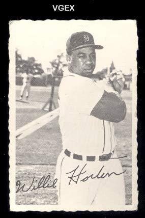 Amazoncom 1969 O Pee Chee Deckle Edge Baseball Card11 Willie