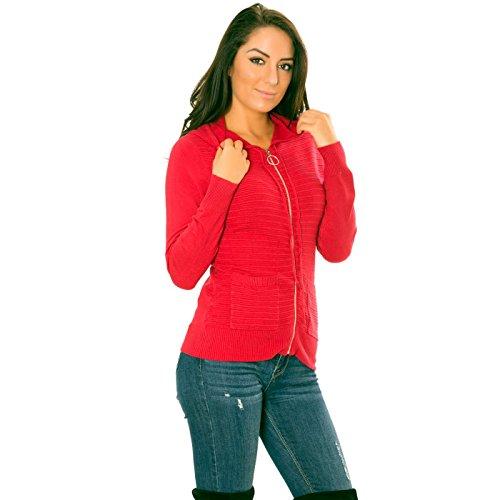 Gilet Miss Rouge Wear Line Wear Miss IFw6R