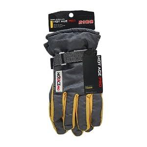 おたふく手袋 防水防寒手袋 ホットエースプロ(マジックタイプ) L HA-323