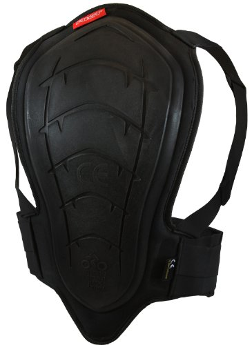 Pilot Core Motorcycle Back Protector V2 (Black, 460mm)