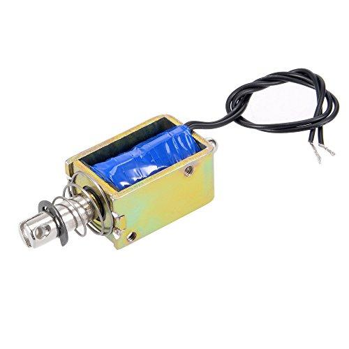 Spring Loaded Push-Pull Open Frame Solenoid Electromagnet 10mm 5kg DC 12V 400A 400a Frame