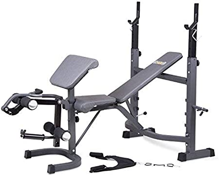 side facing body champ bcb5860 olympic weight bench