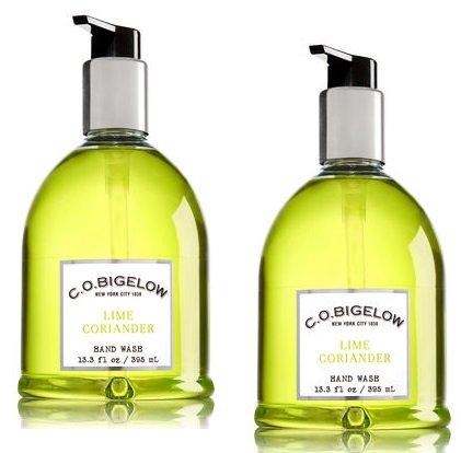 C.O. Bigelow 2 Pack Lime Coriander Hand Wash 13.3 (Bigelow Coriander)