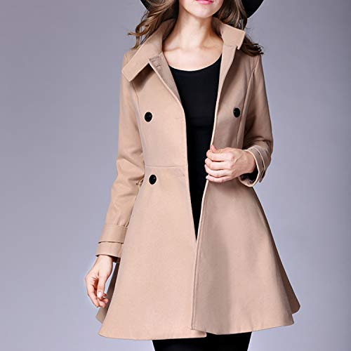 Amazon.com: Sexy Stores Fashion Long Manteau Femme Lapel Collar Long Sleeve Lapel Collar Fashion Female Long Outwear: Clothing