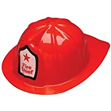 Adorox 12 Pcs Firefighter Chief Soft Plastic Childs Hat