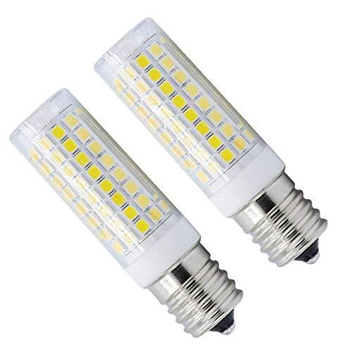 e17 Bulb Dimmable LED Light Bulb,e17 led Bulb 80W Equivalent Daylight, e17 Base Halogen Replacement Bulb for Chandelier Crystal Ceiling Lamp Light (Pack of 2) (White) 100 Watt E17 Medium Base