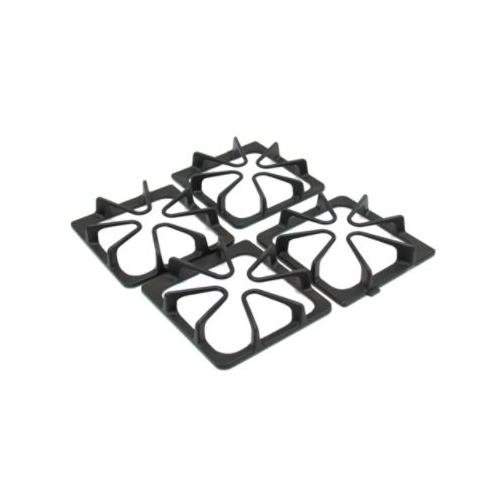 Whirlpool W10447925 Burner Grate Set, Gray