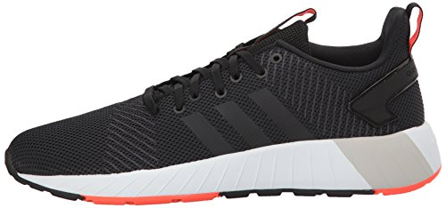 adidas Men's Questar BYD, core Black/Solar red, 6.5 M US by adidas (Image #5)