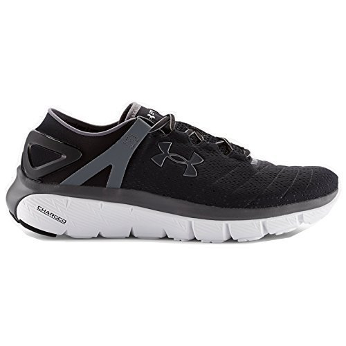 Under Armour Speedform Fortis Athlétisme Chaussures - AW15 - Noir/Blanc/Graphite (1258785-001), 42