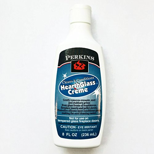 Perkins Hearth and Grill Conditioning Glass Cleaner, 8 Fluid Ounces