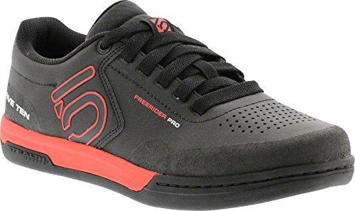 Five Ten Men's Freerider Pro Bike Shoes (Black/Red, 11.5 US)