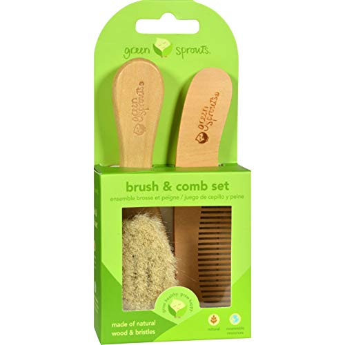 green sprouts Baby Brush & Comb, (Best Green Sprouts Nail Brushes)
