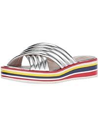 Women's Zonita Synthetic Flat Sandal
