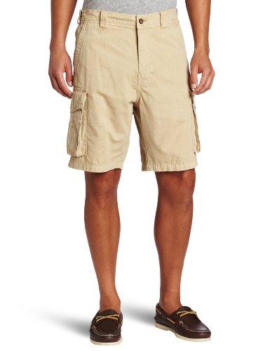 Reyn Spooner Mens Short - Reyn Spooner Men's Ukana Cargo Short, Khaki, Small