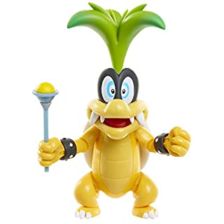 "SUPER MARIO World of Nintendo 4"" Iggy with Wand Toy Figure"