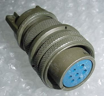 MS3106A18-9S, Airplane Amphenol Cannon Plug Connector -Rev