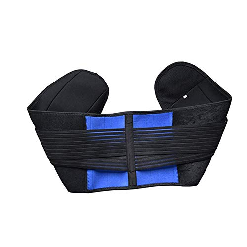 (Jingchen Posture Corrector Sports Fitness Waistband Used for Waist Neoprene with 4 Support Bars at The Waist and Comfortable)