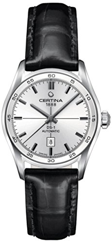 Certina - Wristwatch, Analog automatico, Leather, Women