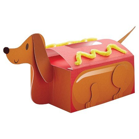 Valentine's Day Mailbox Decorating Kit Hotdog
