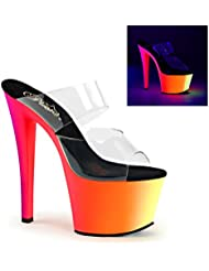 Pleaser Womens RAINBOW-302UV Sandals