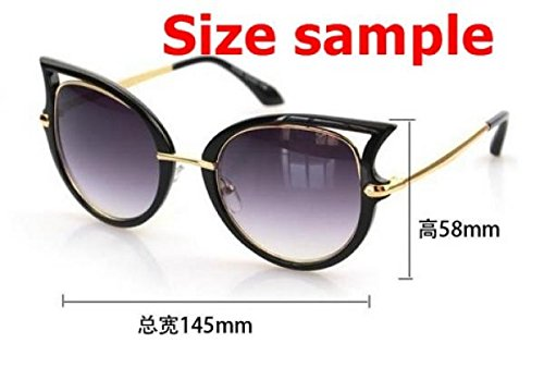 2015 Cat eye sunglasses women brand designer gafas oculos de sol feminino masculino grau metal sun glasses original sunglass