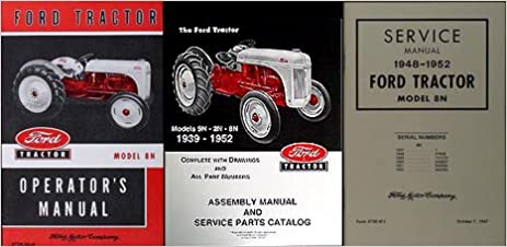 ford tractor manuals