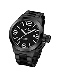 TW Steel Men's CB211 Analog Display Quartz Black Watch