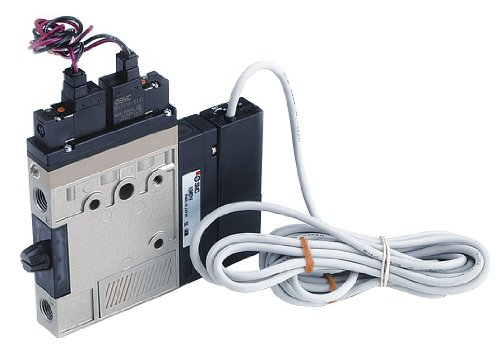SMC - ZM101HT-K5L-E55L - Vacuum Ejector, Single Unit with 1/8 NPT Pressure Port Size and 36.0Lpm Vacuum Flow Rate by SMC Corporation