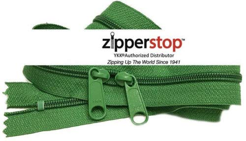 9a4dfc5019d4 Zipperstop wholesale - Double Slide Zipper YKK  4.5 Coil with Two Long Pull  Head to