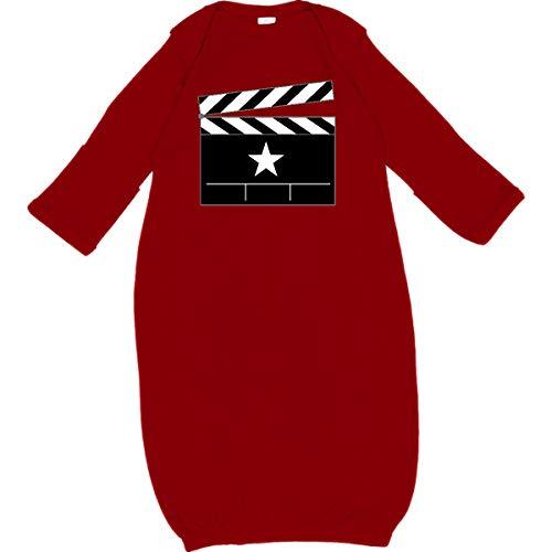 inktastic - Director Movie Clapboard Newborn Layette Red