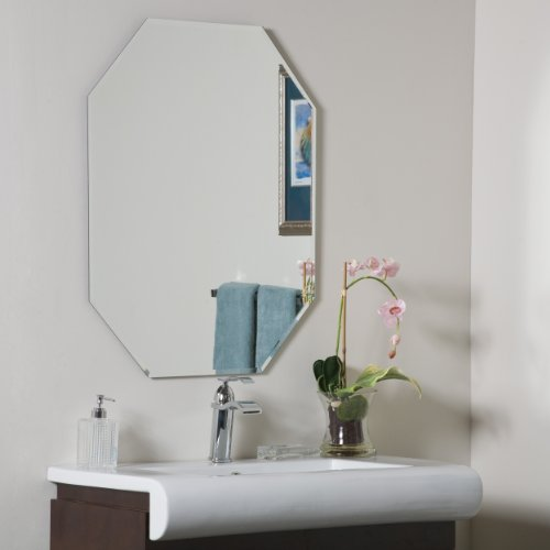 Decor Wonderland Frameless Octagon Beveled Mirror]()
