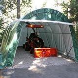 Instant Garage Round Style 14x24x10 - Tan