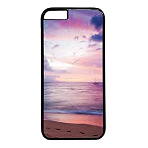 Dreamy Sea Boat Beach Protective Durable Hard Plastic Back Fits Cover Case for iphone 6 Plus 5.5-1122071