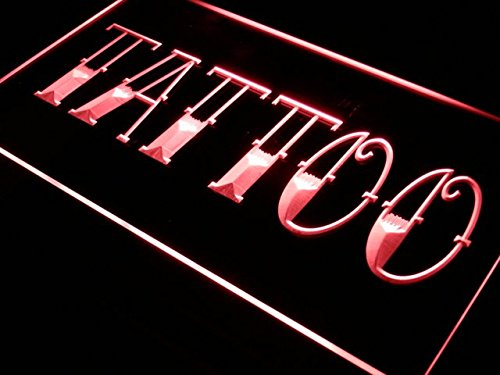 adv pro i550 b tattoo shop bar pub art piercing neon light sign in the uae see prices. Black Bedroom Furniture Sets. Home Design Ideas