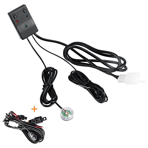 Automatic Light Sensor Wiring Harness Kit Powlab 3 Metrer