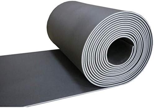 多機能ダンススタジオの衝撃吸収パッド、(5平方)高密度遮音記録スタジオスタジオの壁の音響パネル (Color : Black)