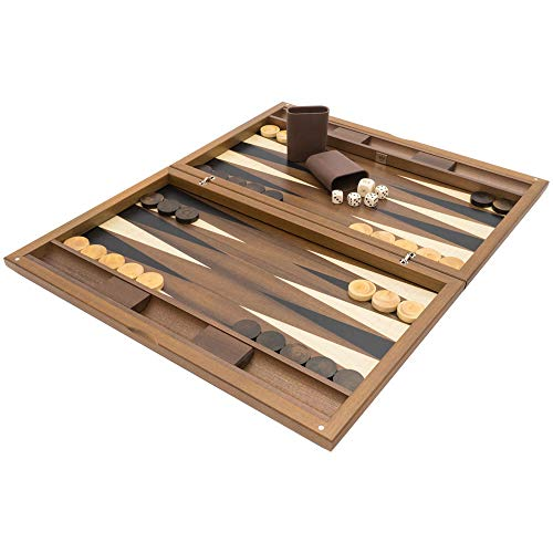(Regencychess The Dal Negro York Deluxe Backgammon Set )