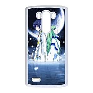 Code Geass LG G3 Cell Phone Case White Exquisite designs Phone Case KM42769H