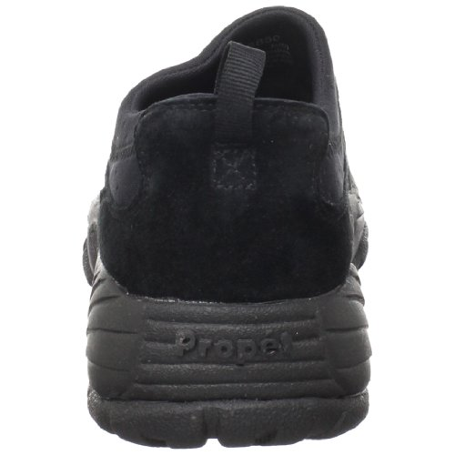Propet Männer M3850 Waschbar Moc Walking Shoe Schwarzes Wildleder