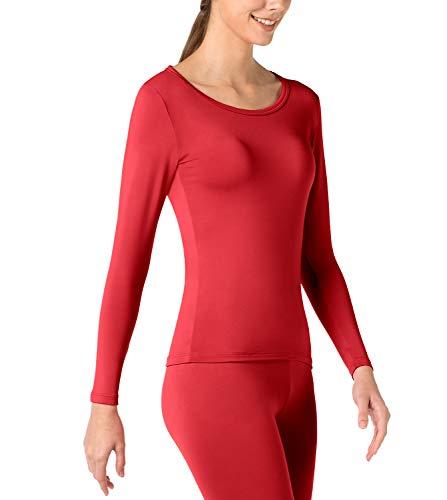 Sans Bas Léger Sous 1 Pantalon rouge Laine Haut Et Femme Lapasa L17 Chaud vêtement Doublure Polaire Thermique 8wBq6znq