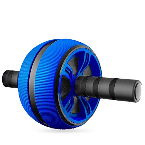 LY Ab Wheel Roller for Core Workout Men Women Home Gym Fitness Equipment Waist Thin Belly Sports Beginners (Color : Blue)