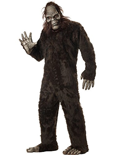 California Costumes Men's Plus-Size Big Foot Suit Costume In Plus, Dark Brown, Plus Size ()