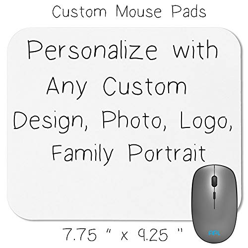 Custom Personalized Computer and Office Mouse pad | Customize Mouse Pad with Any Photo, Logo, Saying, Name, Wedding Event | Amazing Mouse Pad Custom Gift for Friends and ()