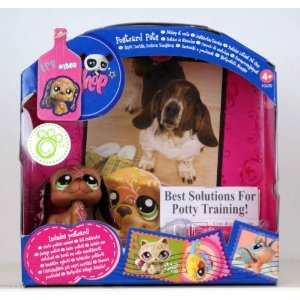 Littlest Pet Shop Series 4 Postcard Pets Basset Hound