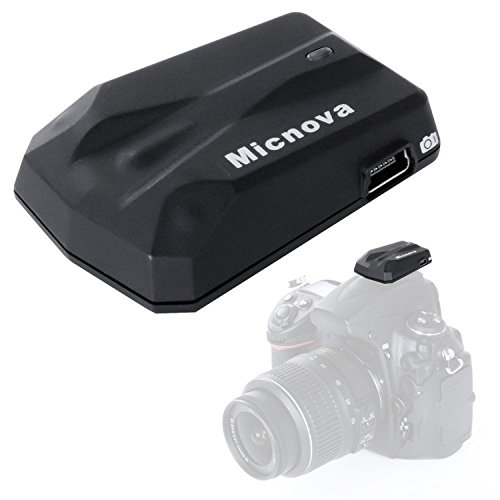 Micnova GPS-N PLUS High-Precision Camera GPS Receiver Navigation Geotagging for Nikon D3100