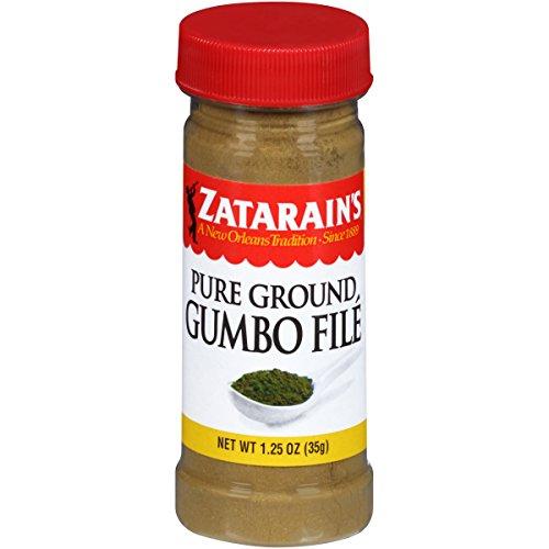 Zatarain's Gumbo File, 1.25 oz (Pack of 12)