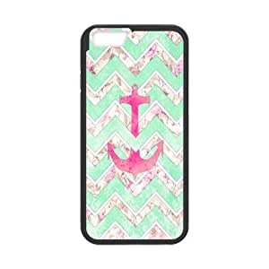 "Winfors Anchor Chevron Phone Case For iPhone 6s / 6 Plus (5.5"") [Pattern-1]"
