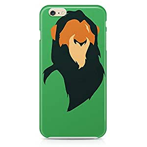 Loud Universe The Lion King iphone 6 plus Case Mufasa Minimal iphone 6 plus Cover with 3d Wrap around Edges