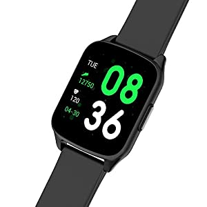 Miracle Digital Gear PRO Fitness Band Smartwatch with 1.3 inch Bright Capacitive LED Full Touch Screen, Multi Functional Activities, Heartrate Monitor, Blood Pressure, IPX67 Water Proof