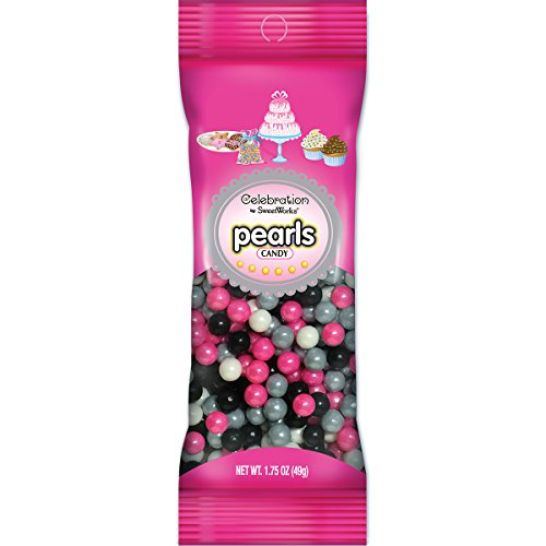 - Sweetworks Celebrations Candy Pearls Pouch Girl Camo Mix, 1.75 oz